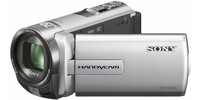 Sony DCR-SX65E stříbrná