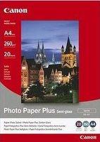 Canon fotopapír SG-201 Plus Semi-gloss (A4)