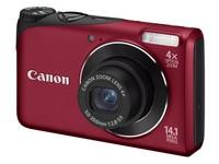 Canon PowerShot A2200 červený