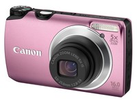 Canon PowerShot A3300 IS růžový