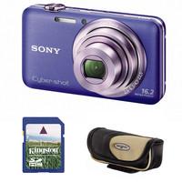 Sony CyberShot DSC-WX7 modrý + 4GB karta + pouzdro Korsika zdarma!