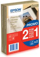 Epson Premium Glossy Photo Paper A6, 2x40 listů