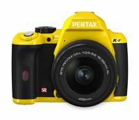 Pentax K-r + 18-55 mm žlutý