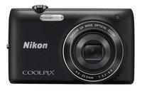 Nikon Coolpix S4150 černý + 4GB karta + pouzdro DF11 zdarma!