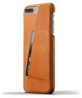 Mujjo kožené peněženkové pouzdro pro iPhone 8 Plus/7 Plus