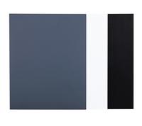 JJC Color Balance Cards - bílá a šedá a černá, karty pro barevné korekce
