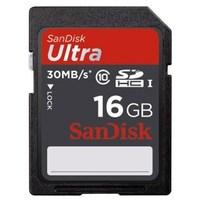 SanDisk SDHC Ultra 16GB 30MB/s Class 10