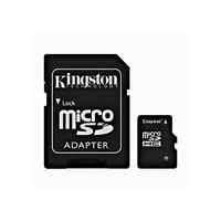 Kingston Micro SD (SDHC Class 4) 8GB karta + adaptér SD