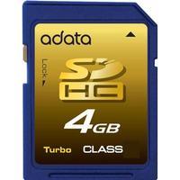 A-Data SDHC 4 GB Class 4