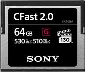 Sony 64GB CFast 2.0 530 MB/s VPG130