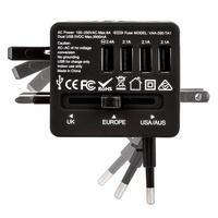 Veho cestovní adaptér a nabíječka USB (4 porty)