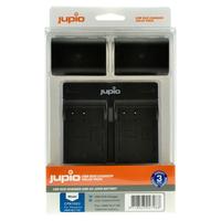 Jupio Kit 2x DMW-BLC12E + USB Dual Charger pro Panasonic