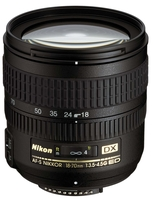 Nikon 18-70 mm F3,5-4,5G AF-S DX ZOOM-NIKKOR IF-ED s LC-67 / HB-32 / LF-1 / CL-0915