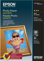 Epson Photo Paper Glossy A4, 20 listů
