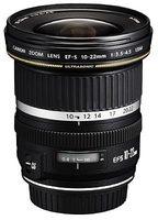 Canon EF-S 10-22 mm f/3,5-4,5 USM a EF-S 17-85 mm f/4-5,6 IS USM