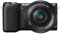 Sony NEX-5R + 16-50 mm + 55-210 mm černý