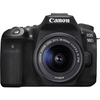 Canon EOS 90D + 18-55 mm IS STM - Video Kit