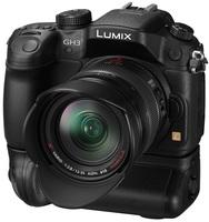 Panasonic Lumix DMC-GH3 + grip BGGH3E + mikrofon MS2E!