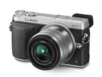 Panasonic Lumix DMC-GX7 + 14-42 mm II stříbrný + 16GB karta + brašna + utěrka!