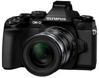 Olympus OM-D E-M1 + 12-40 mm + 45 mm černý