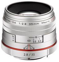 Pentax HD DA 35 mm f/2,8 Macro Limited stříbrný