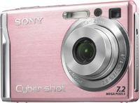 Sony DSC-W80 růžový + MS 1GB DUO karta