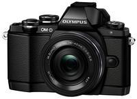 Olympus OM-D E-M10 + 14-42 mm EZ + grip ECG-1 černý