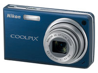 Nikon CoolPix S550 modrý