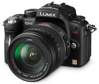 Panasonic Lumix DMC-GH1 černý + G VARIO HD 14-140 mm