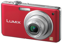Panasonic Lumix DMC-FS6 červený