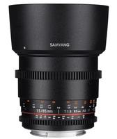 Samyang CINE 85 mm T/1,5 VDSLR II pro Sony E