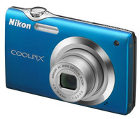 Nikon Coolpix S3000 modrý