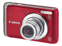 Canon PowerShot A3100 IS červený