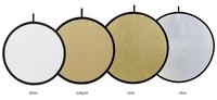 Fomei odrazná deska EXL bílá/stříbrná 100cm