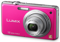 Panasonic Lumix DMC-FS10 růžový