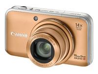Canon PowerShot SX210 IS zlatý