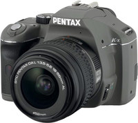 Pentax K-x olivový + 18-55 mm