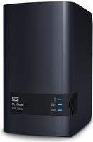 "Western Digital My Cloud EX2 Ultra 8TB (2x4TB), 3.5"" NAS, černý"