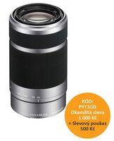 Sony 55-210mm f/4,5-6,3 SEL stříbrný