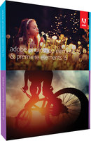 Adobe Photoshop Elements + Premiere Elements 15 MP ENG FULL Box