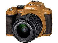 Pentax K-r + 18-55 mm hnědý