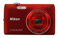 Nikon Coolpix S4150 červený
