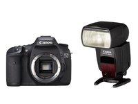 Canon EOS 7D + blesk 580 EX II
