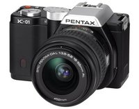 Pentax K-01 + 18-55 mm + 50-200 mm