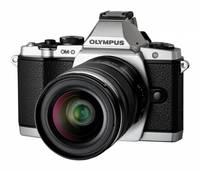 Olympus E-M5 + 45 mm stříbrný