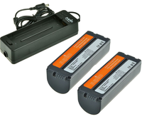 Jupio Kit 2x NB-CP2L + LCA0010 Charger pro Canon SELPHY