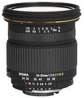 Sigma 24-60 mm F 2,8 EX DG IF pro Pentax + utěrka Sigma zdarma!