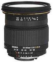 Sigma 24-60 mm F 2,8 EX DG IF pro Canon + utěrka Sigma zdarma!