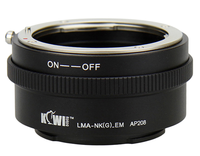 JJC adaptér z Nikon G na Sony E