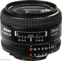 Nikon 28mm f/2,8 AF NIKKOR D A